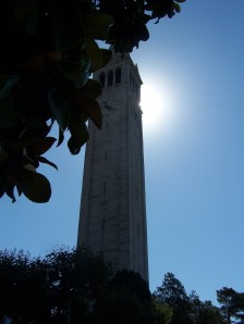 Clock Tower UC Berkeley Campus